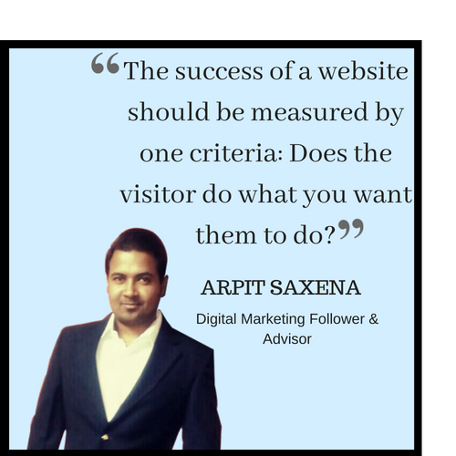 Arpit saxena for digital marketing
