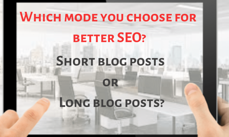 Short blog vs long blog