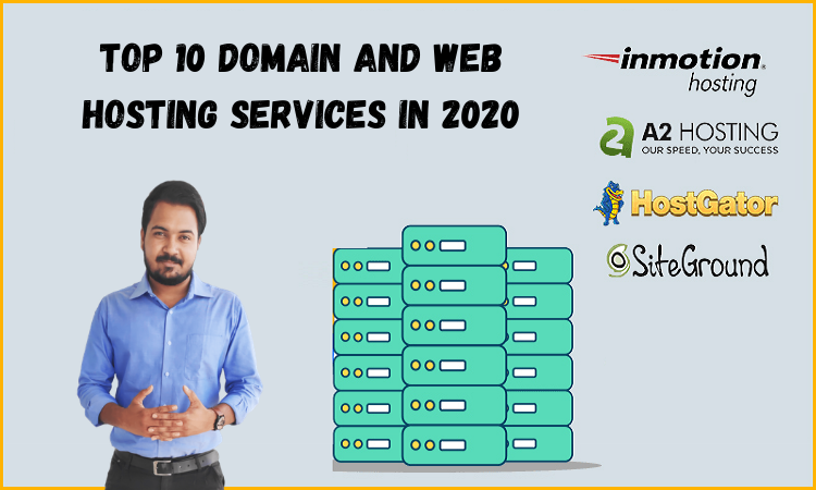 Top 10 domain and web hosting services in 2020